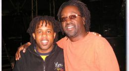 David with Victor Wooten